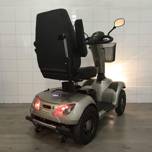 Vermeiren scootmobiel Carpo 4 achterkant
