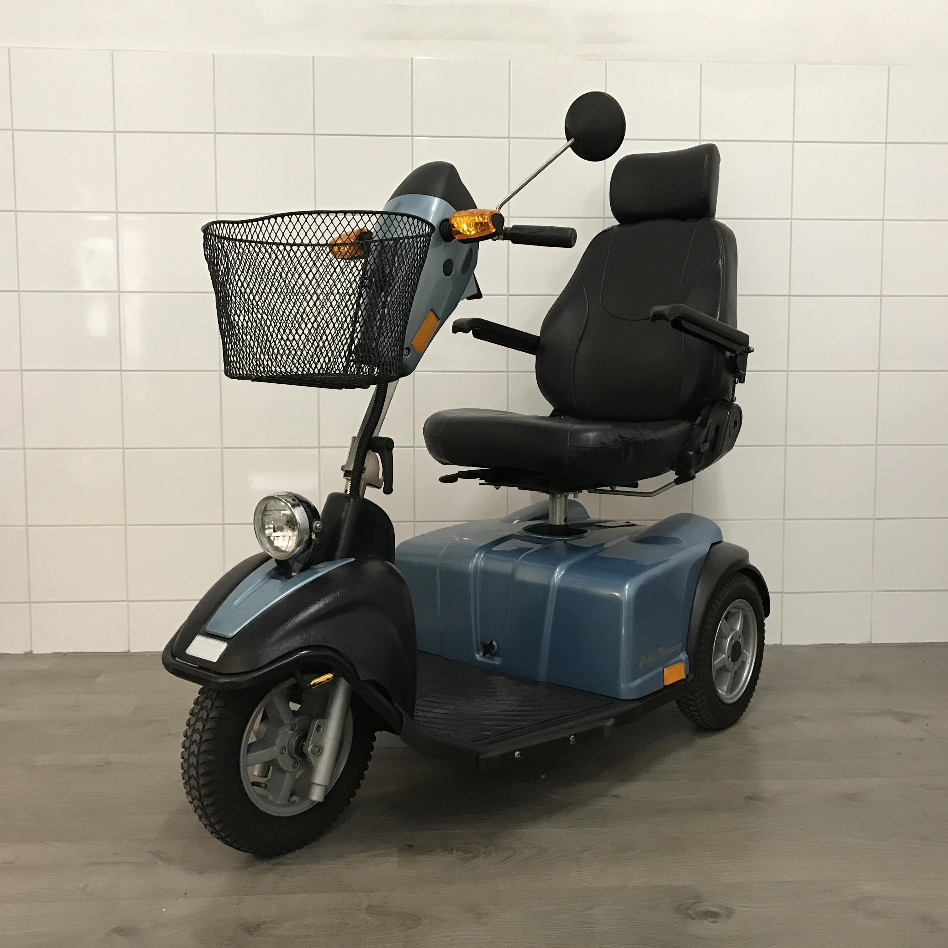 Minicrosser scootmobiel E130 voorkant